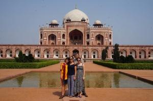 Huyaun's Tomb. It looks like the Taj Mahal.